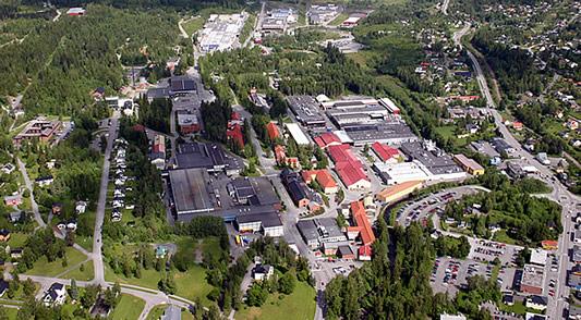 Der Raufoss Industriepark ist auf die Metallbearbeitung spezialisiert.©Raufoss Industriepark