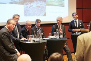 Diskussionsrunde mit Vertretern deutscher und norwegischer Energie- und Industriekonzerne© Innovation Norway 2016