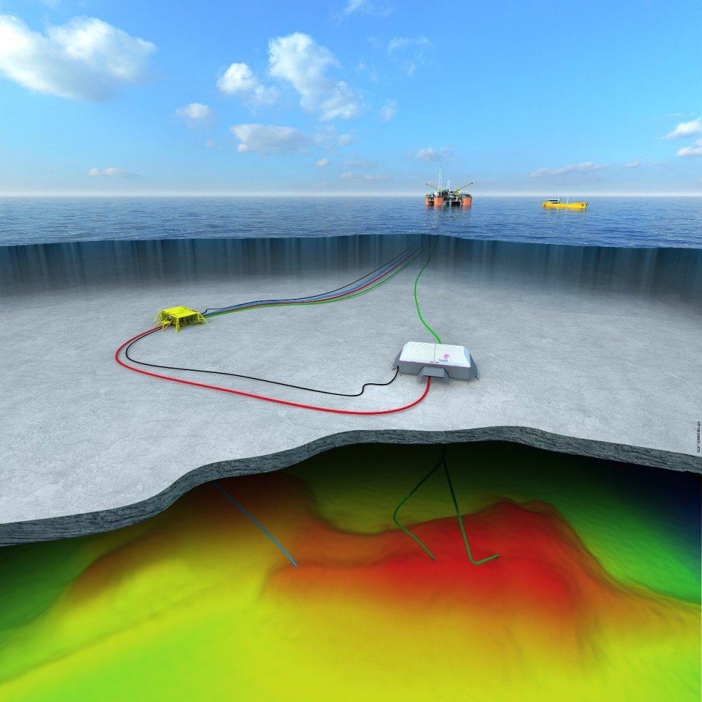 Statoil erhielt im Juni grünes Licht vom Norwegian Petroleum Directorate für den Entwicklungsplan der Felder Njord und Bauge Vor allem kostengünstig muss die Erschließung erfolgen.@Statoil