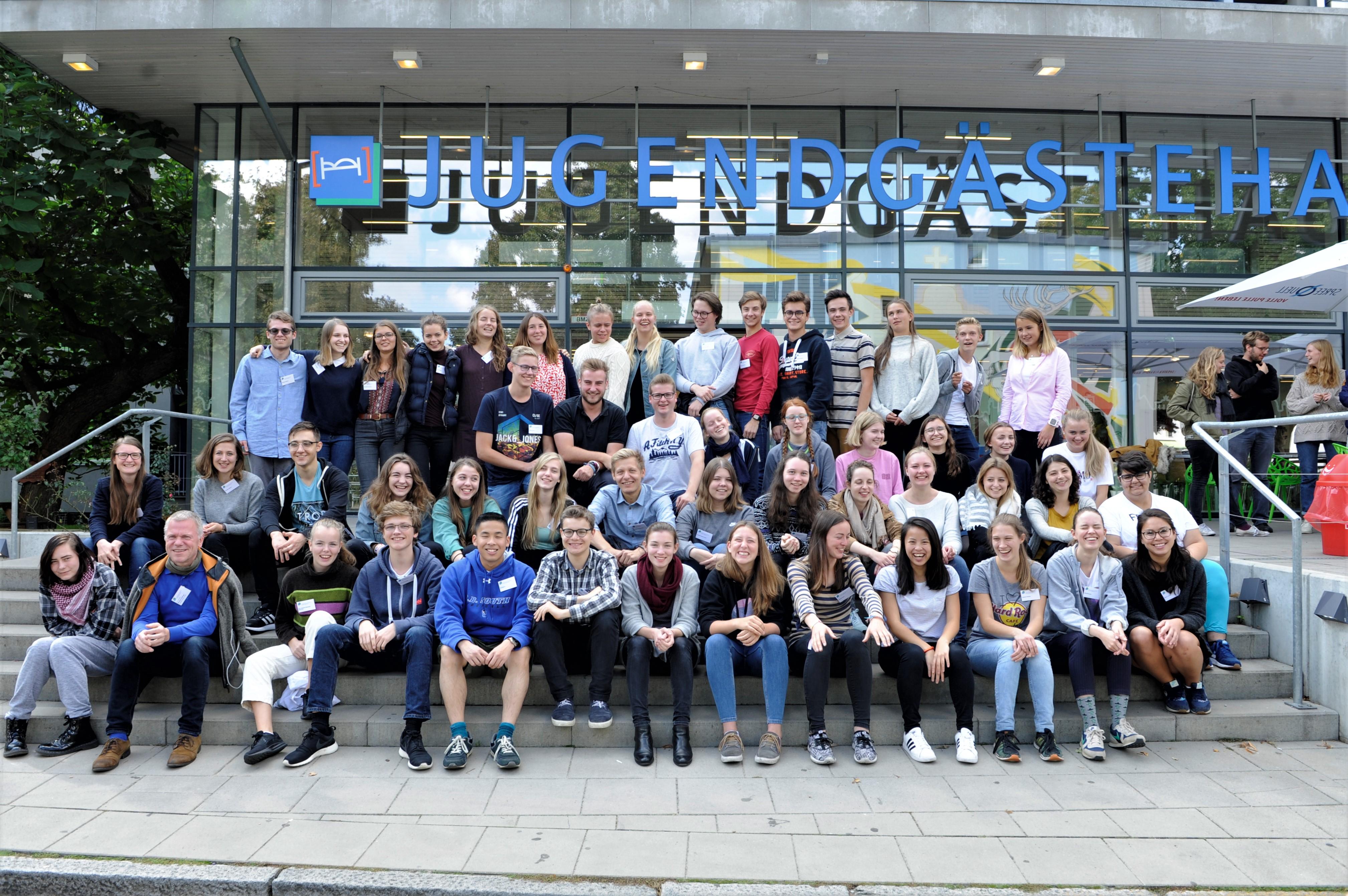 60 Jugendliche aus Norwegen und Deutschland trafen sich beim 11. Deutsch-Norwegischen Jugendforum in Berlin.©DNJF