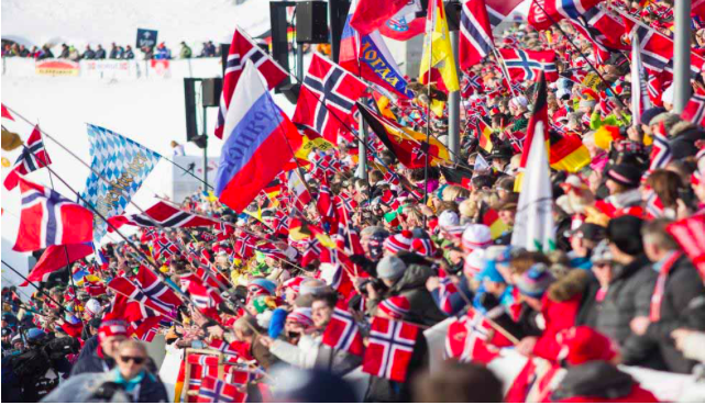 Vom 15. bis 18. März findet in Oslo der Biatholon Worldcup 2018 statt.©AHK Norwegen
