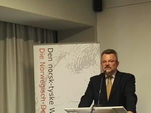 Franz Thönnes, Co-Vorsitzender der Norwegisch-Deutschen Willy-Brandt-Stiftung@BNP