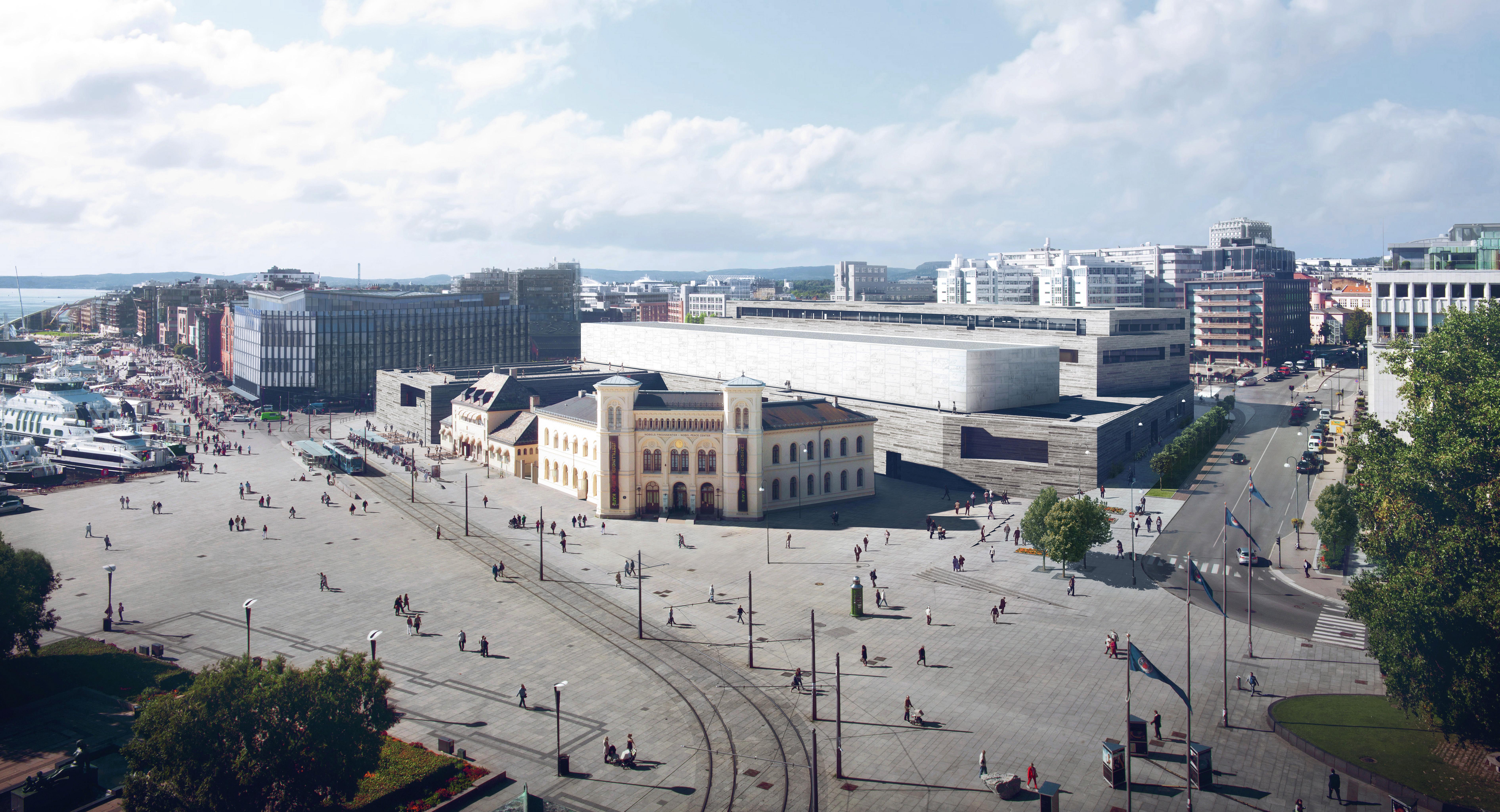 Blick auf das Neue Nationalmuseum©MIR Statsbygg