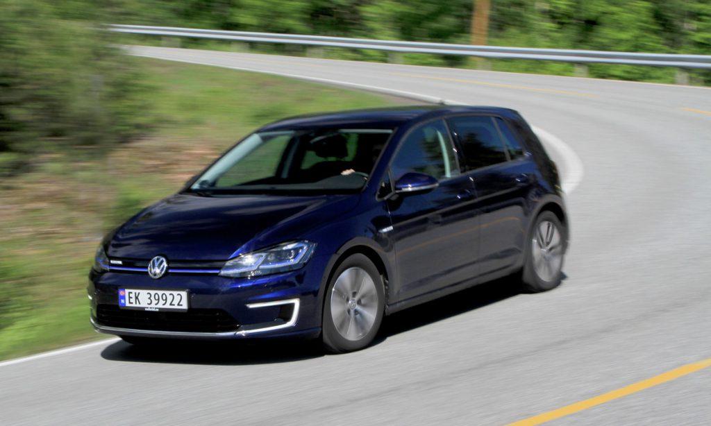 Besonders beliebt in Norwegen: der e-golf von Volkswagen©Elbilfolkening