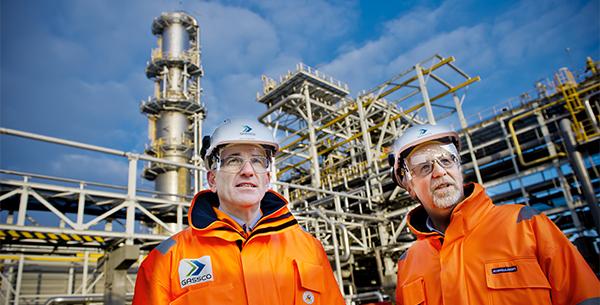 In der Aufbereitungsanlage Kollsnes ist das Gasvolumen von 41,8 Milliarden Standardkubikmeter Gas 2016 auf auf 47,1 Milliarden Standardkubikmeter gestiegen.©Gassco