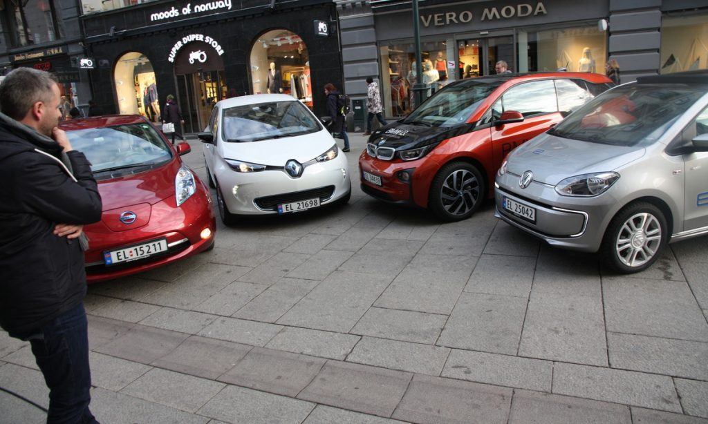 45 Prozent aller Neuwagen werden 2018 elektrisch sein, prognostiziert der Verband der E-Auto-Besitzer.©Elbilforening