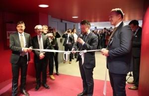Eröffnung des Technologie- und Testzentrum©NCE