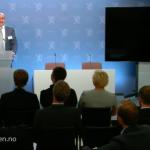 Jacques Miniane bei der Präsentation des IWF-Reports zu Norwegen Jacques Miniane bei der Präsentation des IWF-Reports zu Norwegen©Finanzministerium Norwegen