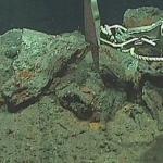 Sulfidminerale als große Fragmente und Körner©NPD