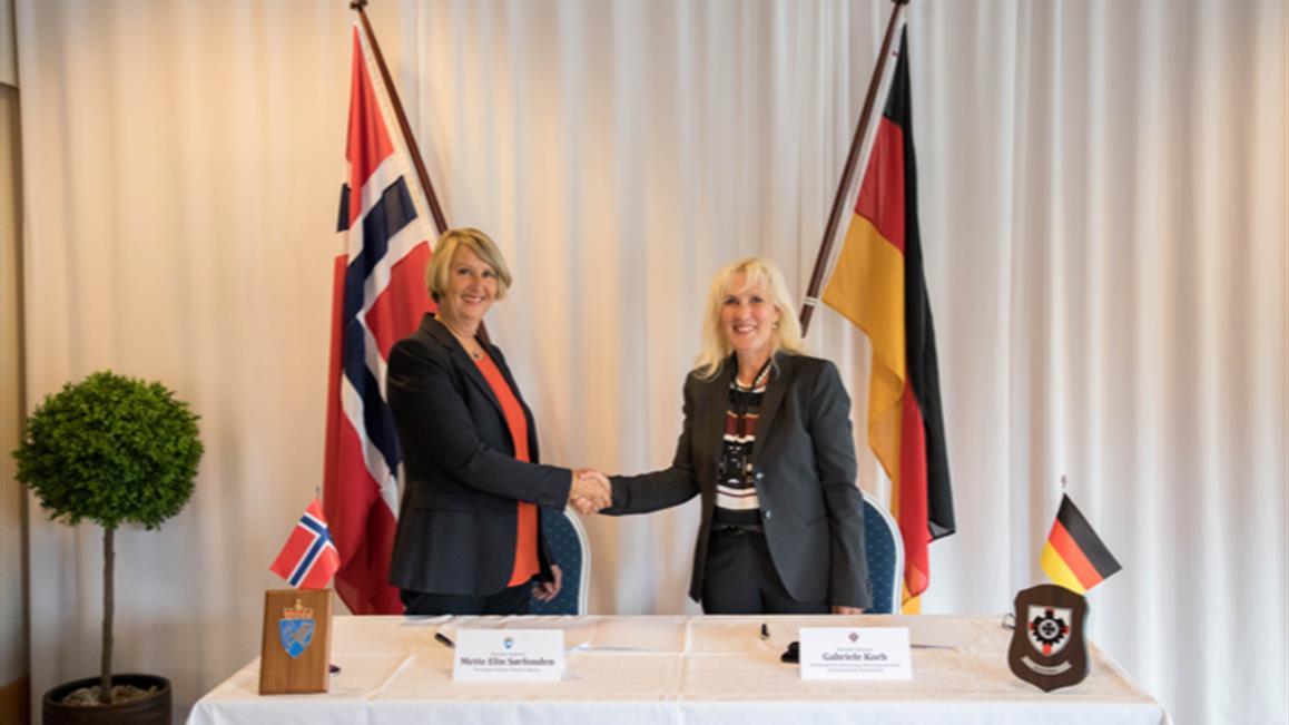 Unterzeichnung zu Zusammenarbeit bei Beschaffung und Wartung beim U-Boot-Bau©
