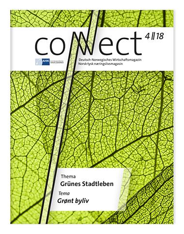 Lesen Sie hier die aktuelle Ausgabe von Connect, der Zeitschrift der Deutsch-Norwegischen Handelskammer